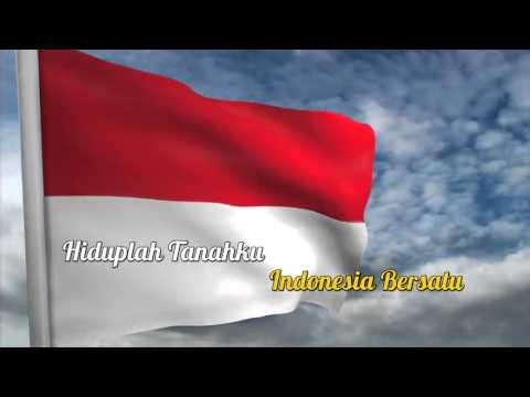 indonesia raya text karaoke small