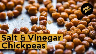 How to Make: Salt and Vinegar Chickpeas