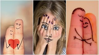 Cutest Finger Drawings And Funniest Finger Art Funny Photos funny Pictures