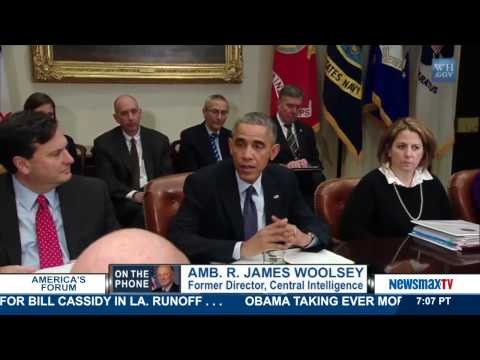 America's Forum   James Woolsey talks about the continued terror threat from ISIS   Part 1