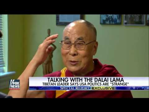 To Bret Baier's Disappointment, the Dalai Lama Knows Nothing About Caddyshack or Golf