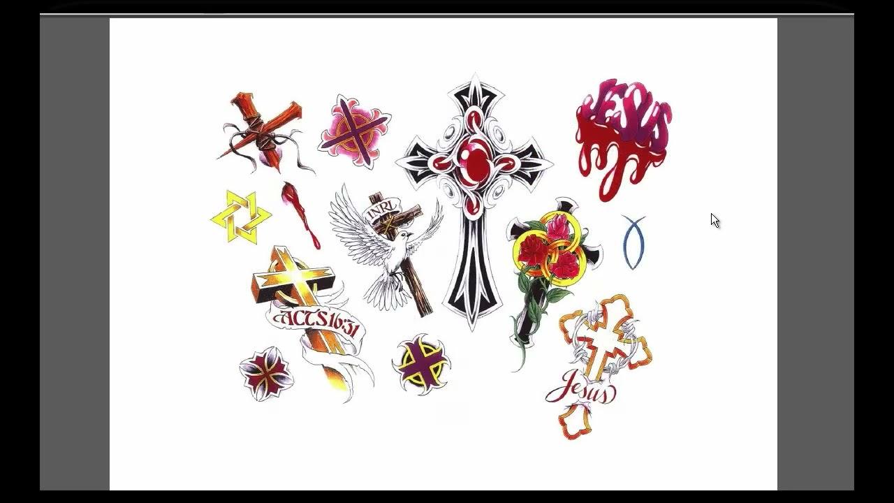 Tatuajes religioso dise os para tatuarse youtube - Dibujos tribales para tatuar ...