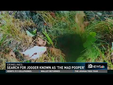 Jogger dubbed the 'The Mad Pooper'