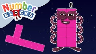 Numberblocks - Meet the Octoblock! | Learn to Count