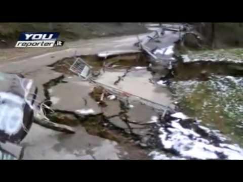 Alto Mugello: frane e smotttamenti stradali