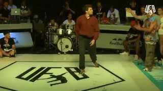 underground funky base vol 8 world final 5 vs 5 crew quarter-final (b.m vs d.d.)