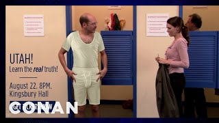 David Cross Upset A Lot Of People In Utah With This Tweet - CONAN on TBS