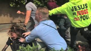 antifa berkeley knockout street fighter edition