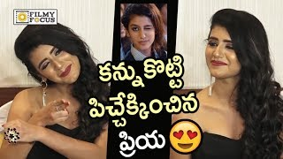 Priya Prakash Varrier Wink Video : Priya Prakash Varrier Gets Naughty with Media