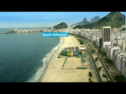 Rio de Janeiro - Olympic games 2016 ( facilities and city tour ) - Master plan