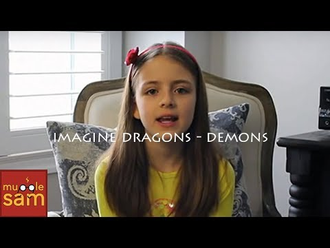 Demons - Imagine Dragons | 10-year-old Sophia | Mugglesam video