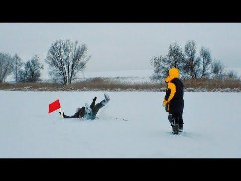 УРА! Зимняя рыбалка! Мой Первый лед 2018