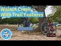 Riding with Trail Features at Walnut Creek - Austin TX
