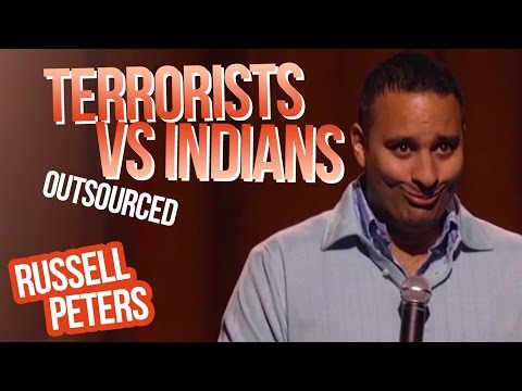 quotTerrorists vs Indiansquot  Russell Peters - Outsourced