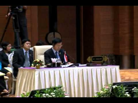 24th ASEAN Summit Plenary Session 5/11/2014