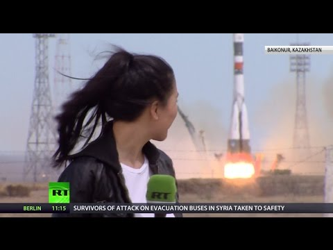 'I might freak out when I see the rocket': RT talks to Soyuz crew before epic  launch