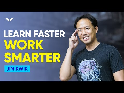 Unleash Your Super Brain To Learn Faster And Work Smarter | Jim Kwik