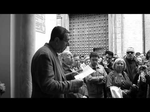 Guillermo Sánchez, Javier Domínguez y Paco Gamero en el Convento de Santa Inés Sevilla 11/04/2013