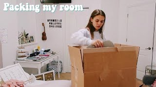 Pack my room with me | I'm moving!