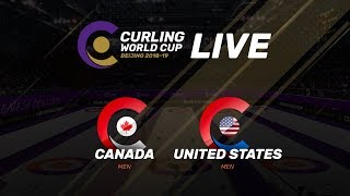 Canada v United States - Men - Curling World Cup Grand Final - Beijing, China