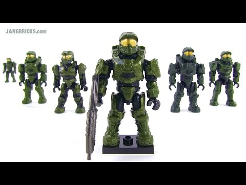 Mega Bloks Halo 2014 Master Chief figure & comparisons