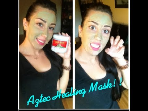 Aztec Healing Clay Mask for Acne. Uneven skintone. Blackheads. Whiteheads & more!
