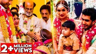 EMOTIONAL MOMENTS : Soundarya Rajinikanth & Vishagan's Wedding Celebrations   Marriage Video