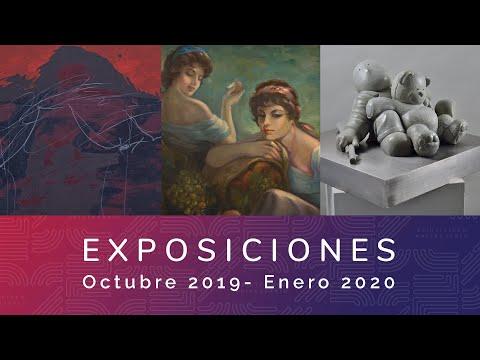 Video Ciclo de exposiciones Octubre 2019 - Diciembre 2020