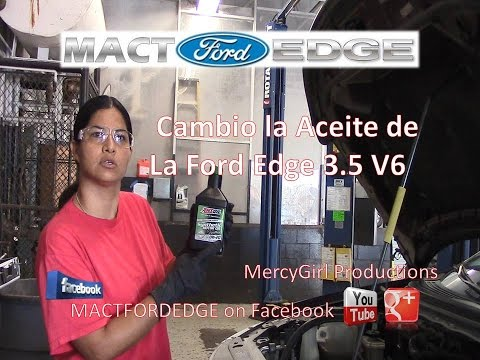 Cambio La Aceite de la Ford Edge 3 5 V6
