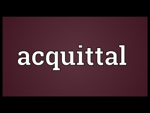 Header of acquittal