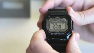 GLX-5600-1DR Casio G-Shock G-Lide Review & Unboxing