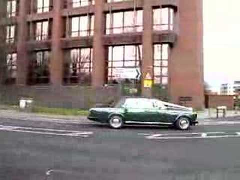 Rolls Royce in Woking Video