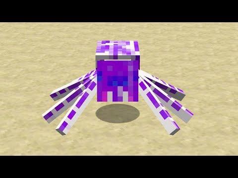 Minecraft Mod Efsane Örümcekler - Much More Spiders Reborn