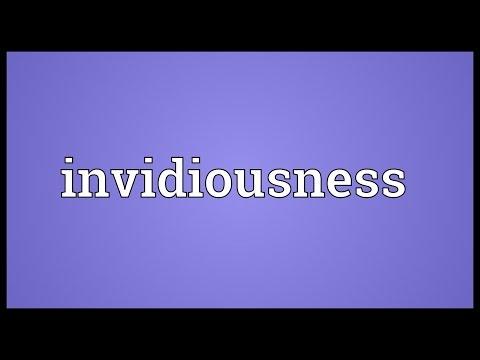 Header of invidiousness