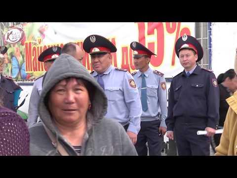 В Уральске прошла мирная забастовка торговцев стихийных рынков (ВИДЕО)