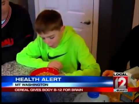 Health Alert: Cereal Gives Body B-12 for Brain