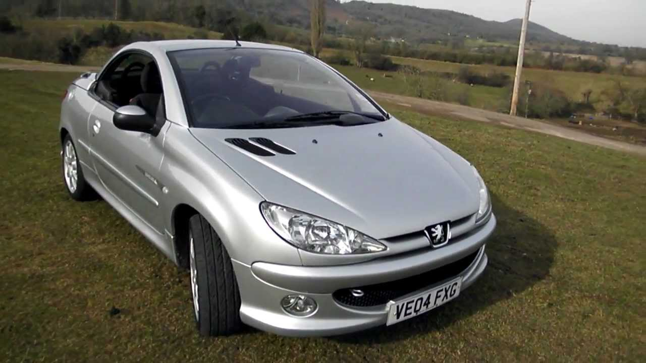 2004 peugeot 206 quiksilver cc youtube. Black Bedroom Furniture Sets. Home Design Ideas