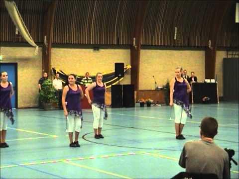 Majorettes concours 2012