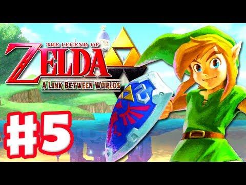 The Legend of Zelda: A Link Between Worlds - Gameplay Walkthrough Part 5 - Tower of Hera (3DS)