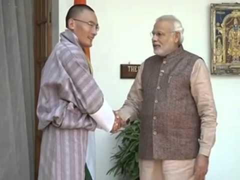 PM Narendra Modi meets Prime Minister of Bhutan, Tshering Tobgay
