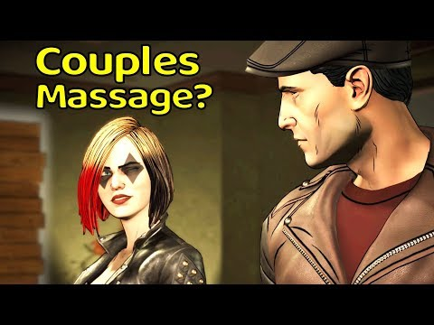 Harley Saving Bruce at Bodhi Spa - All Dialogues - The Enemy Within Episode 4 What Ails You