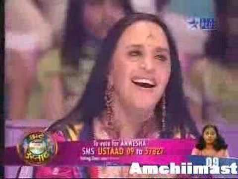 Anwesha - Star Voi Chote Ustaad 2008- Morni Bag Ma Bole video