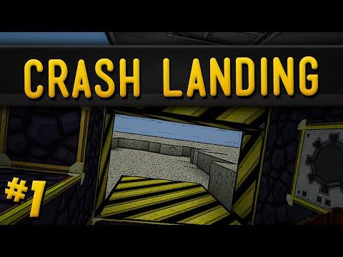 Minecraft Crash Landing Part 1 After The Mars Rocket Crash
