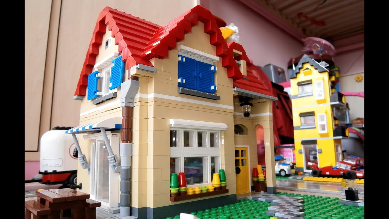 Lego creator 6754 family home review youtube for House creator