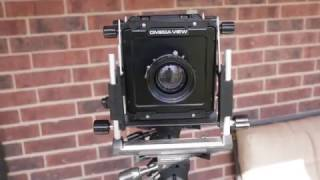 Overview of 4x5 camera