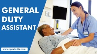General Duty Assistant, Nursing Care Assistant at DPMI Paramedical Institute