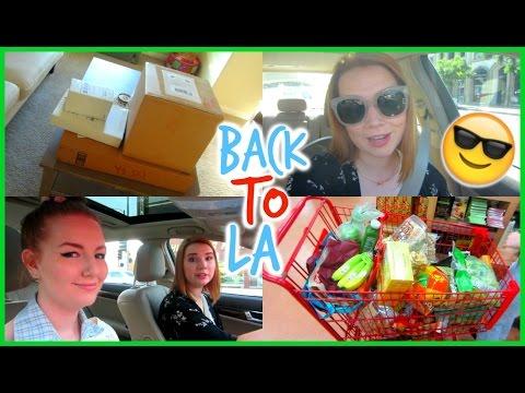 Back to LA! New Classes, Errands & Unboxing Haul | Lindsey's Life #95