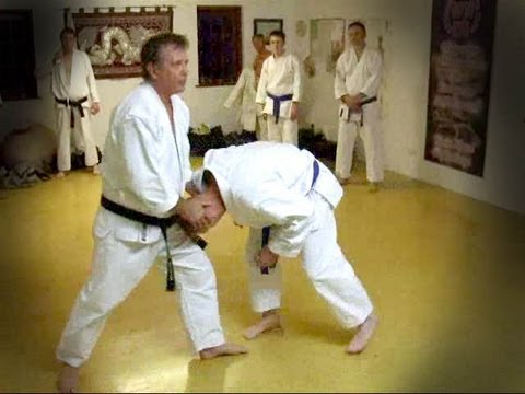 Tom Hill's Karate Dojo; Dim Mak In Kokutsu Dachi & Kururunfa Goju Kata Bunkai video