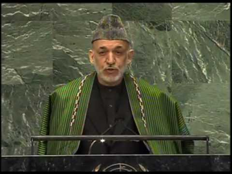 President Karzai's Speech at UNGA - September 25, 2012