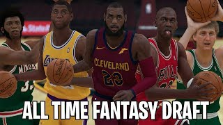 NBA 2K19 All Time Player Fantasy Draft!